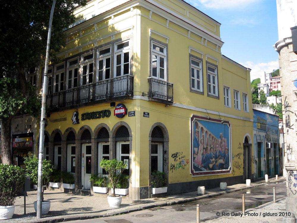 bar do ernesto na lapa, rio de janeiro